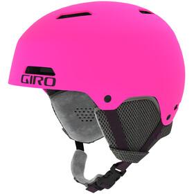 Giro Crüe Casque Enfant, matte bright pink
